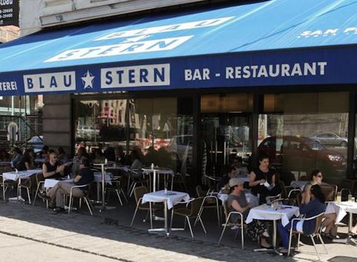 Schanigarten (c) Cafe Blaustern