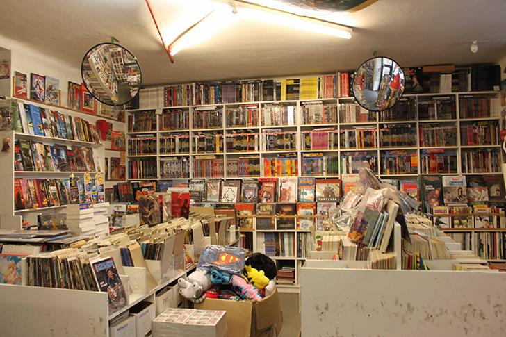 Comic Galerie Shop (c) STADTBEKANNT Friedl
