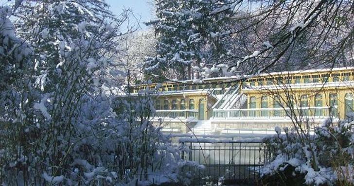Fischauer Thermalbad im Winter (c) Fischauer Thermalbad