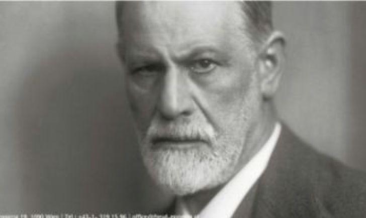 Sigmund Freud Porträt