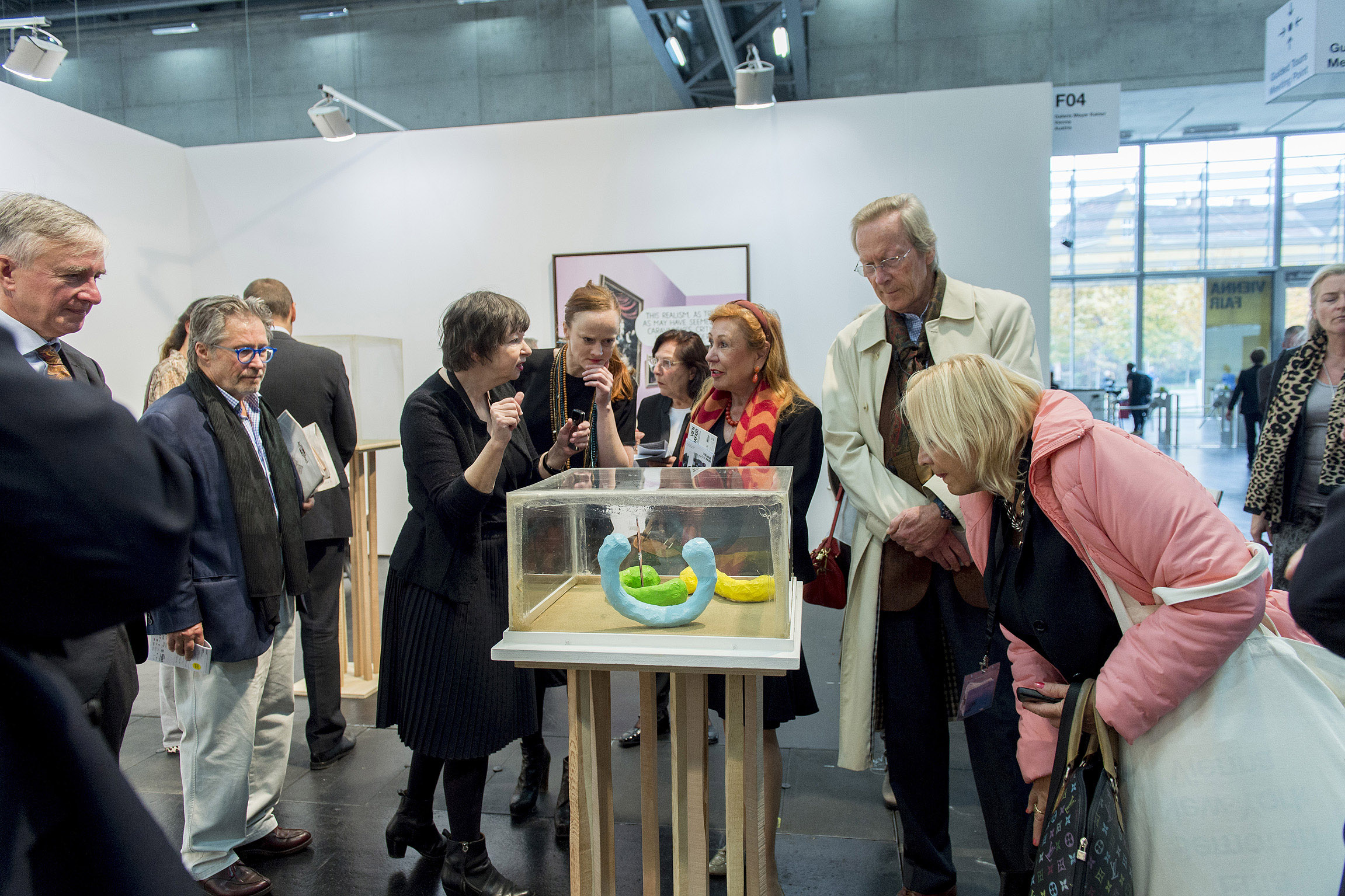 Foto: Exhibition View VIENNAFAIR The New Contemporary