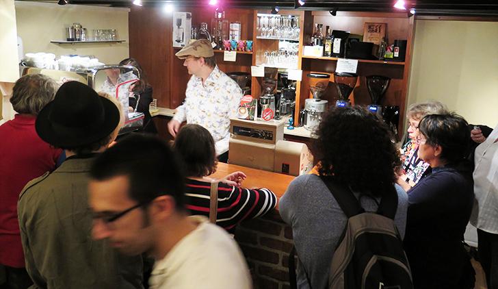 Kaffeeverkostung im ALT WIEN KAFFEE , Foto: STADTBEKANNT