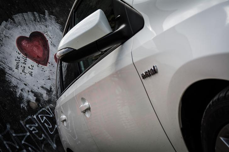 Toyota Auris Beifahrertür (c) STADTBEKANNT Adamek