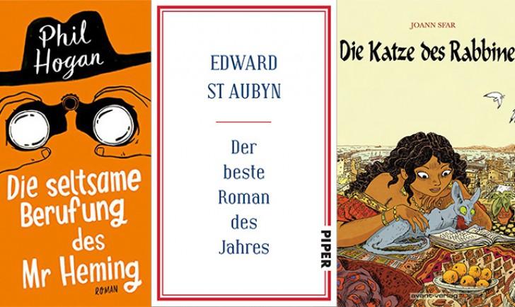 Buchcover Die seltsame Berufung des Mr. Heming, Der beste Roman des Jahres, Die Katze des Rabbiners