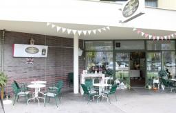 Cafe Little Britain Lokal Eingang (c) STADTBEKANNT