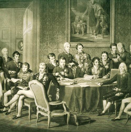 Foto:  J.B. Isabey, Wiener Kongress 1814