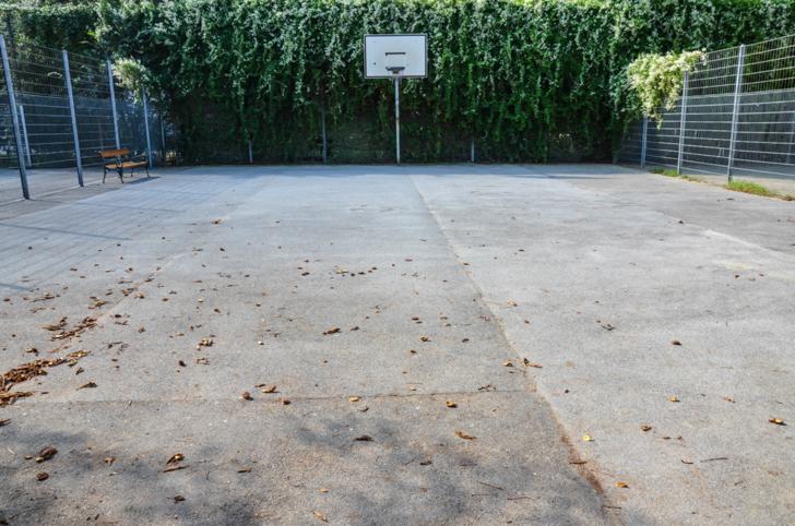 Josefstadt Basketballplatz Schönbornpark (c) STADTBEKANNT