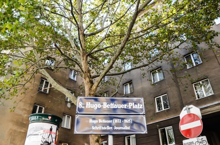 Josefstadt Hugo-Bettauer-Platz (c) STADTBEKANNT