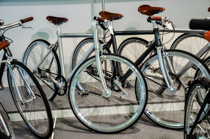 Citybiker Bikes chrom (c) STADTBEKANNT