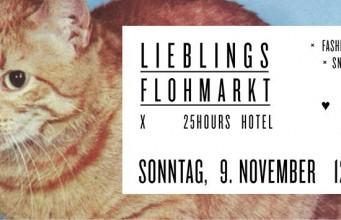 Foto: Flyer Lieblingsflohmarkt x 25H Hotel