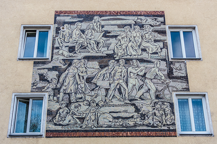 Rudolfsheim-Fuenfhaus Mosaik (c) STADTBEKANNT