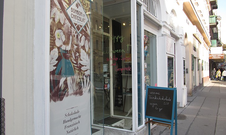 Bonbon et Chocolat Eingang (c) STADTBEKANNT Moser