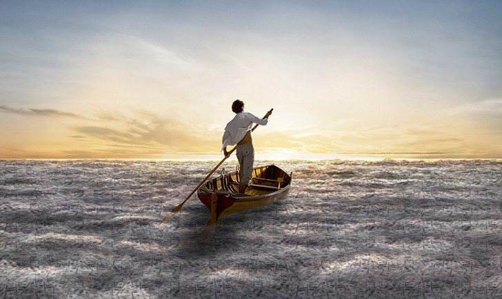 Foto: Cover The Endless River PINK FLOYD