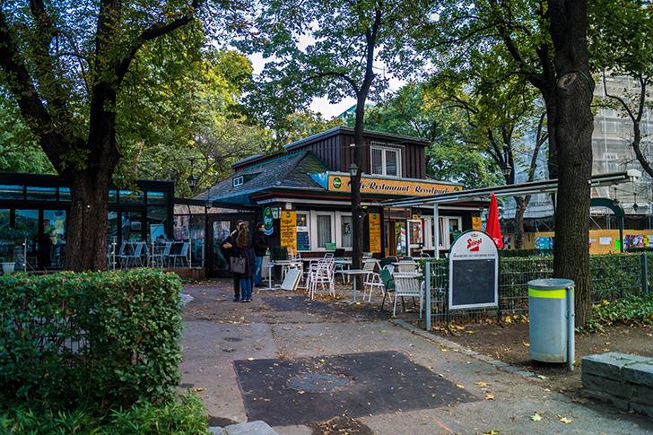Restaurant Resselpark Gastgarten (c) STADTBEKANNT Zohmann