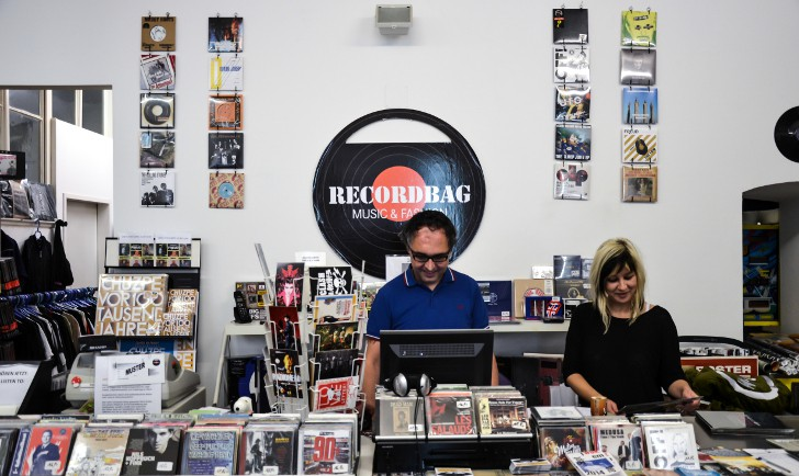 Recordbag Plattenladen (c) stdtbekannt.at