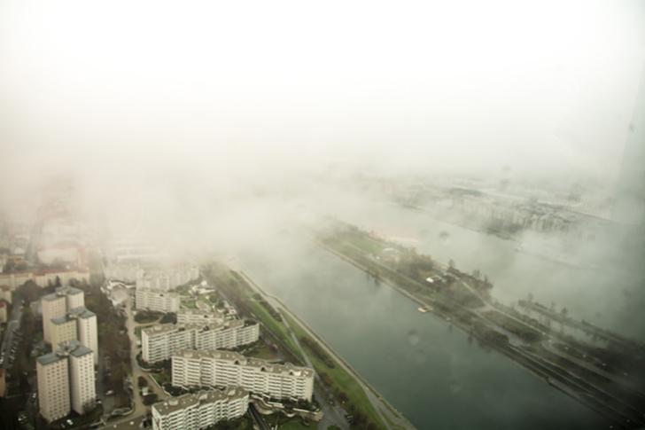 Vom Dach des DC-Towers - Melias - Wiens höchstgelegene Bar