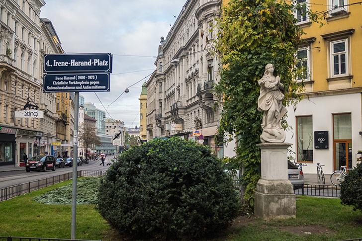 Wieden Irene-Harand-Platz (c) STADTBEKANNT