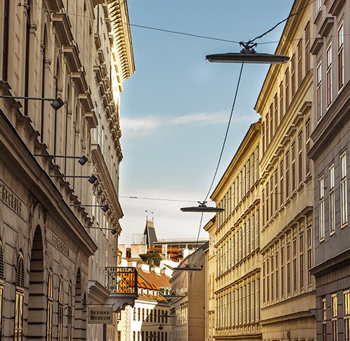 Wohin in Wien Josefstadt (c) STADTBEKANNT