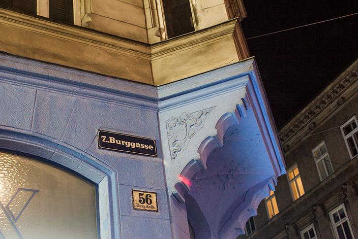 Burggasse Straßenschild (c) STADTBEKANNT
