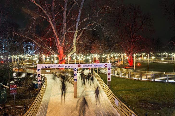 City-Skyliner Eislaufen (c) STADTBEKANNT