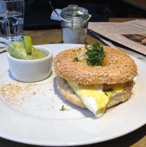 Coffee & Bread Bagel (c) Hofinger STADTBEKANNT
