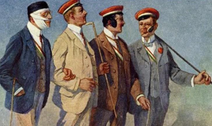"Akademiker mit Niveau (Gemälde ""Renommierbummel""  Georg Mühlberg)"