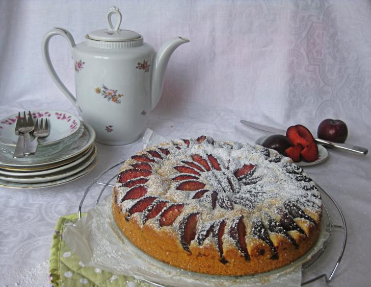 Obstkuchen Kaffeekanne (c) STADTBEKANNT Noll