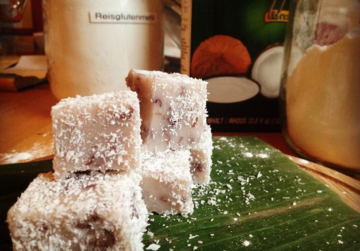 Sticky Coco ricecake (c) Reisfee