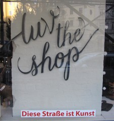 luv the shop (c) STADTBEKANNT Moser
