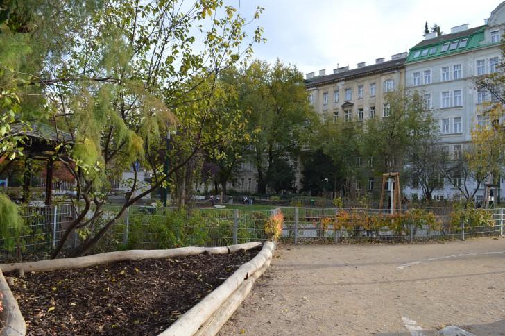 Hamerlingplatz (c) STADTBEKANNT Binder