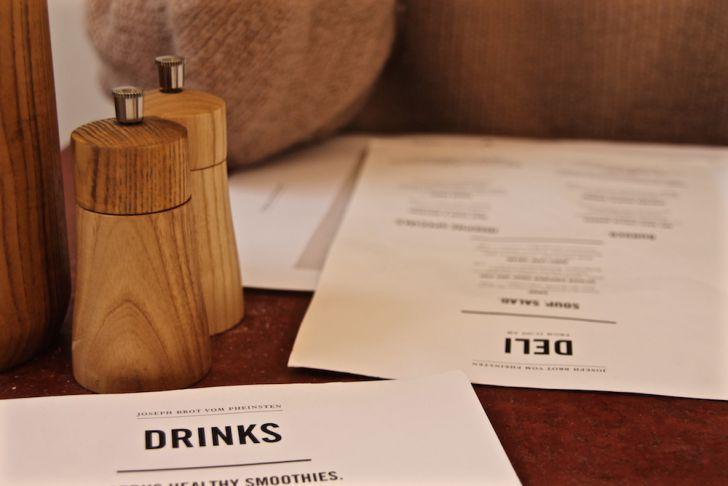Joseph Brot Landstraße Verkauf Deli Drinks Karte (c) STADTBEKANNT