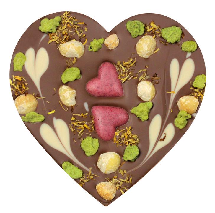 Zotter Herz Schokolade  (c) FROMAUSTRIA.COM