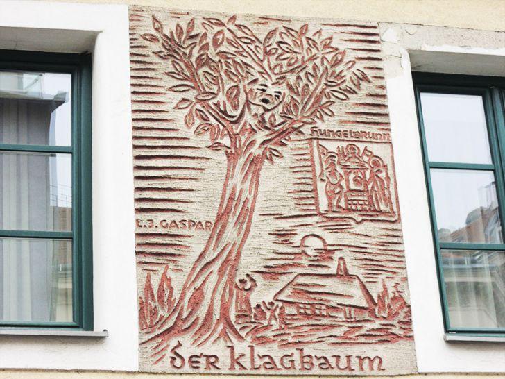 Der Klagbaum an der Wiedner Hauptstraße (c) STADTBEKANNT Mallmann