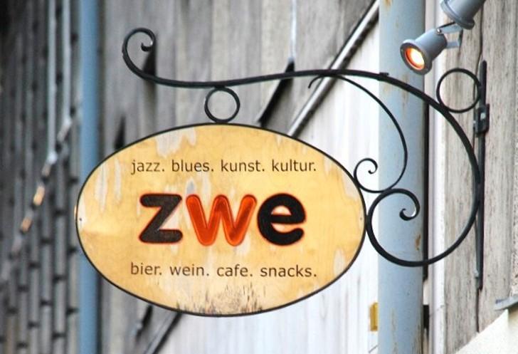 Jazzcafe Zwe Schild