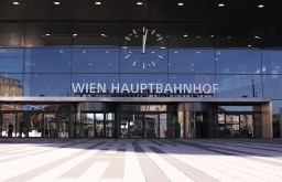 Wien Hauptbahnhof Eingang (c) STADTBEKANNT