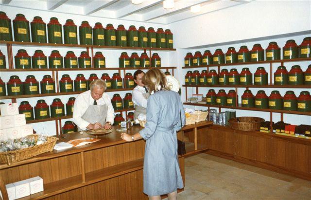 Eröffnung Demmers Teehaus 1981 (c) Demmers Teehaus