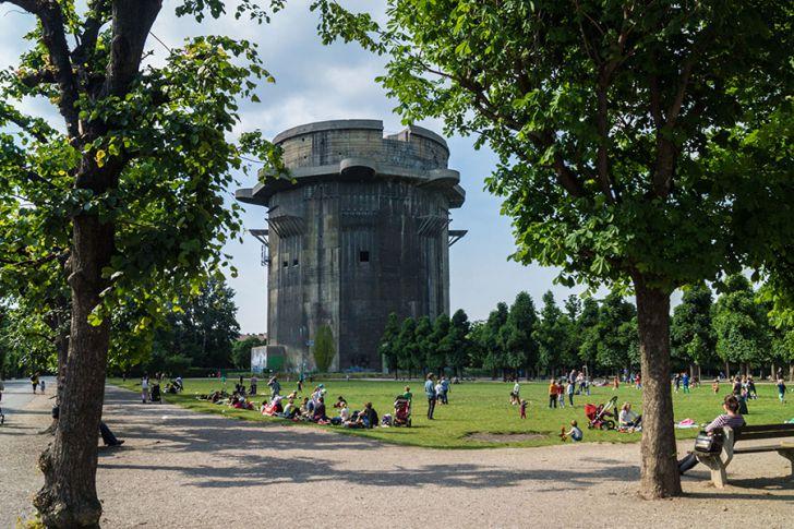 Augarten Flakturm (c) STADTBEKANNT Zohmann