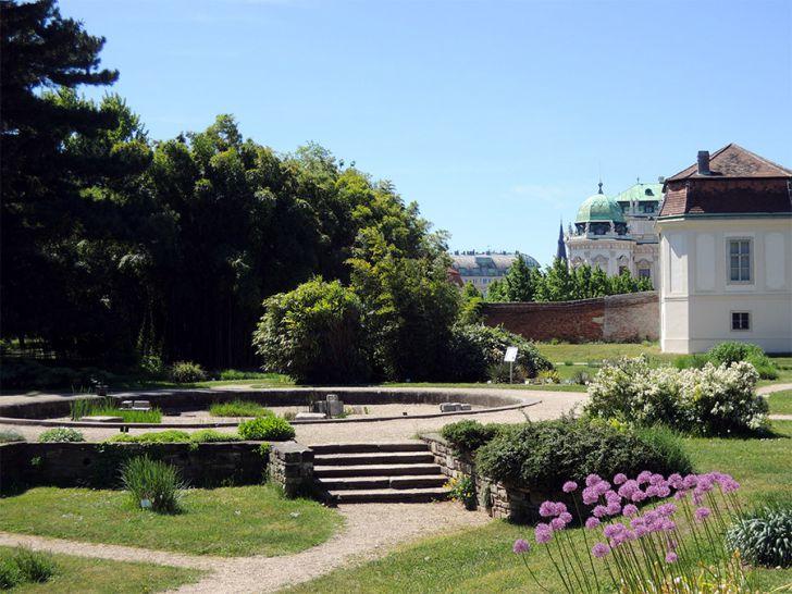 Botanischer Garten Wien Platz (c) STADTBEKANNT