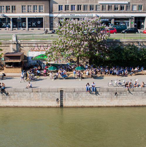 Donaukanal (c) STADTBEKANNT Fontanesi