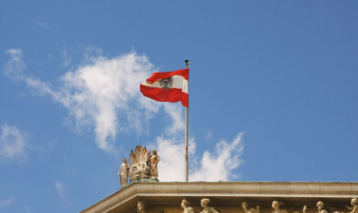 Fahne Österreich (c) STADTBEKANNT