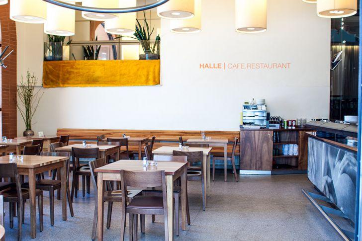 Halle Cafe Restaurant Lokal (c) STADTBEKANNT