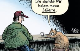 Cartoons über Katzen (c) Holzbaum Verlag