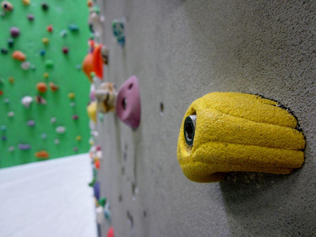 Kletterhalle Marswiese Griff (c) STADTBEKANNT
