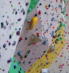 Kletterhalle Marswiese Vorstiegswand Detail (c) STADTBEKANNT