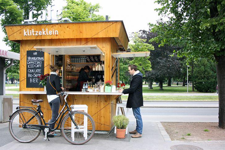 café klitzeklein Holzhütte (c) STADTBEKANNT