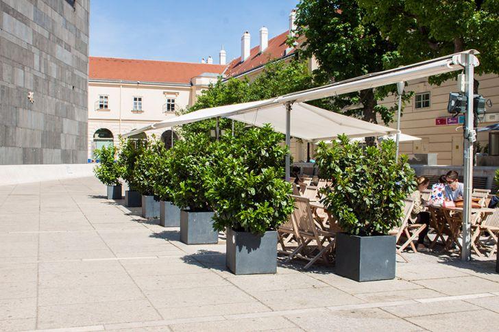 Kantine Gastgarten (c) STADTBEKANNT