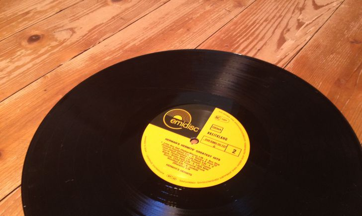 Schallplatte Vinyl (c) STADTBEKANNT Hofinger