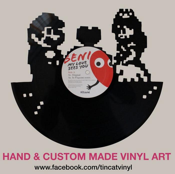 Vinyl Art Super Mario (c) Tincat