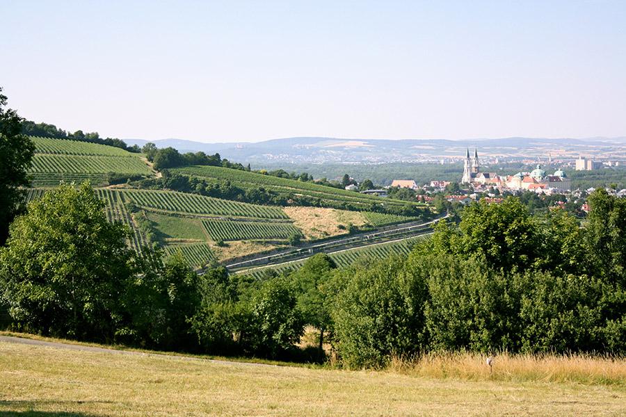 Kahlenbergerdorf Blick auf Stift Klosterneuburg (c) STADTBEKANNT Nohl