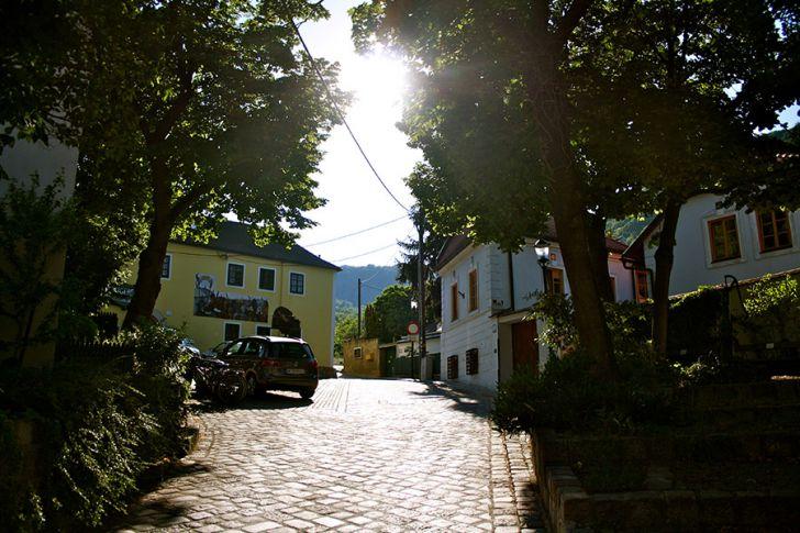 Kahlenbergerdorf Straße (c) STADTBEKANNT